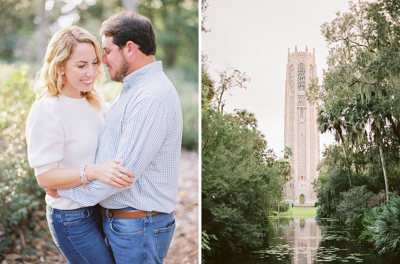 bok tower garden engagement