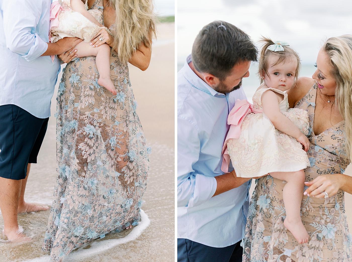 gender reveal family portraits