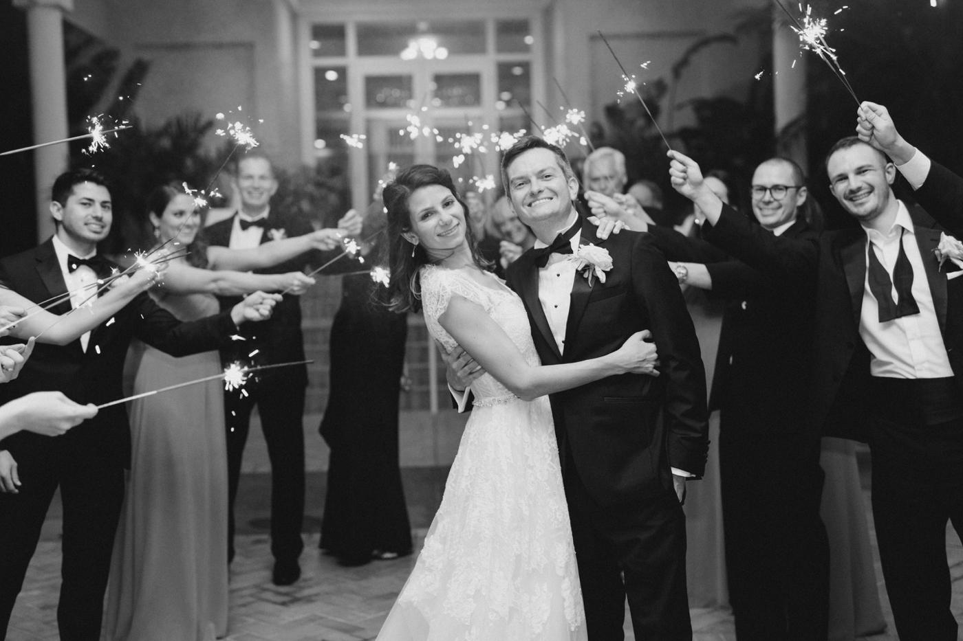 wedding exit photography