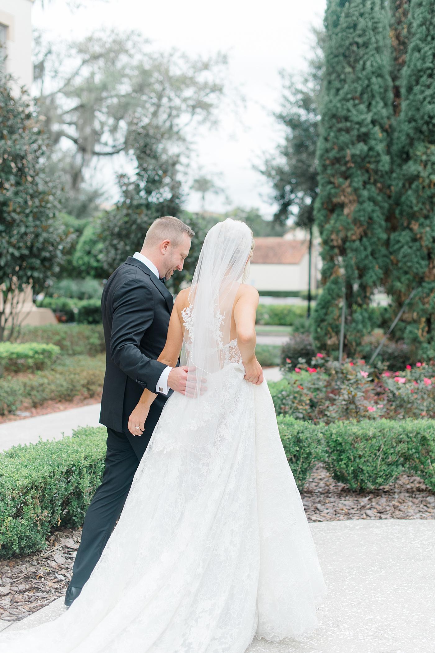 Orlando garden wedding