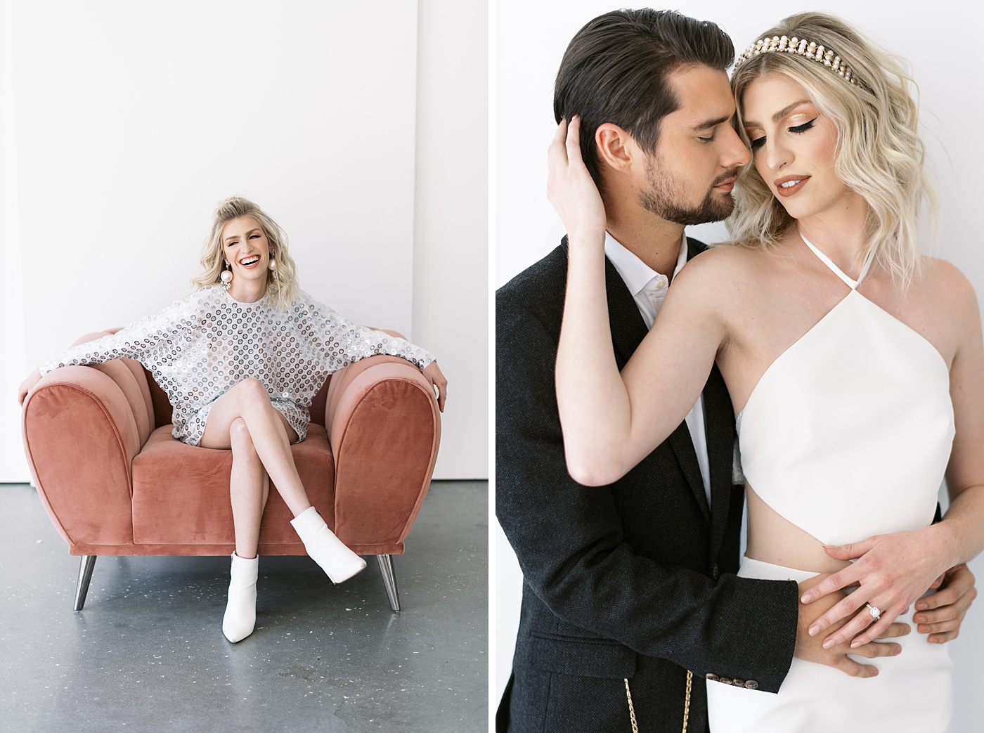 styled wedding shoot