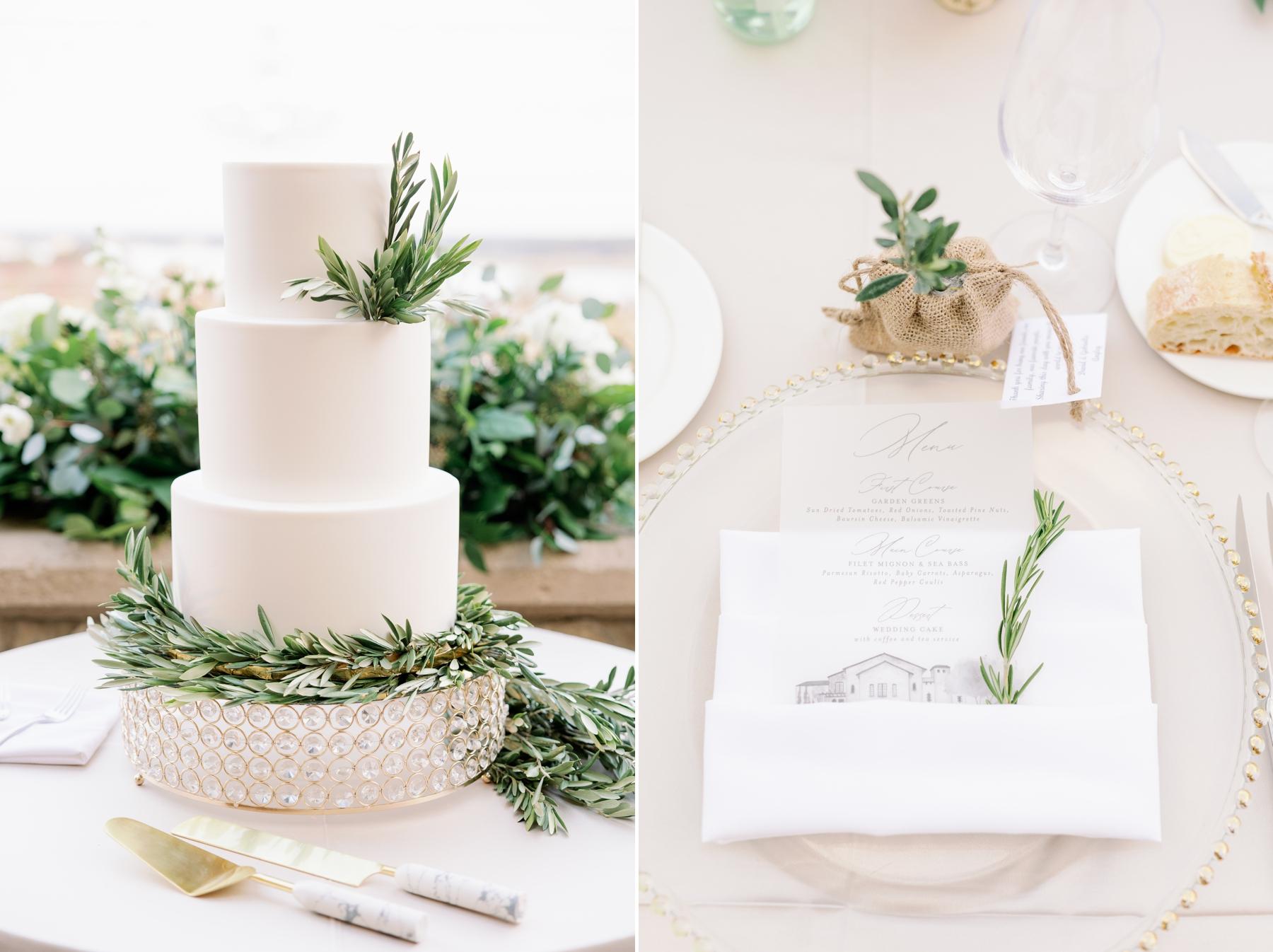 bella collina wedding reception photography
