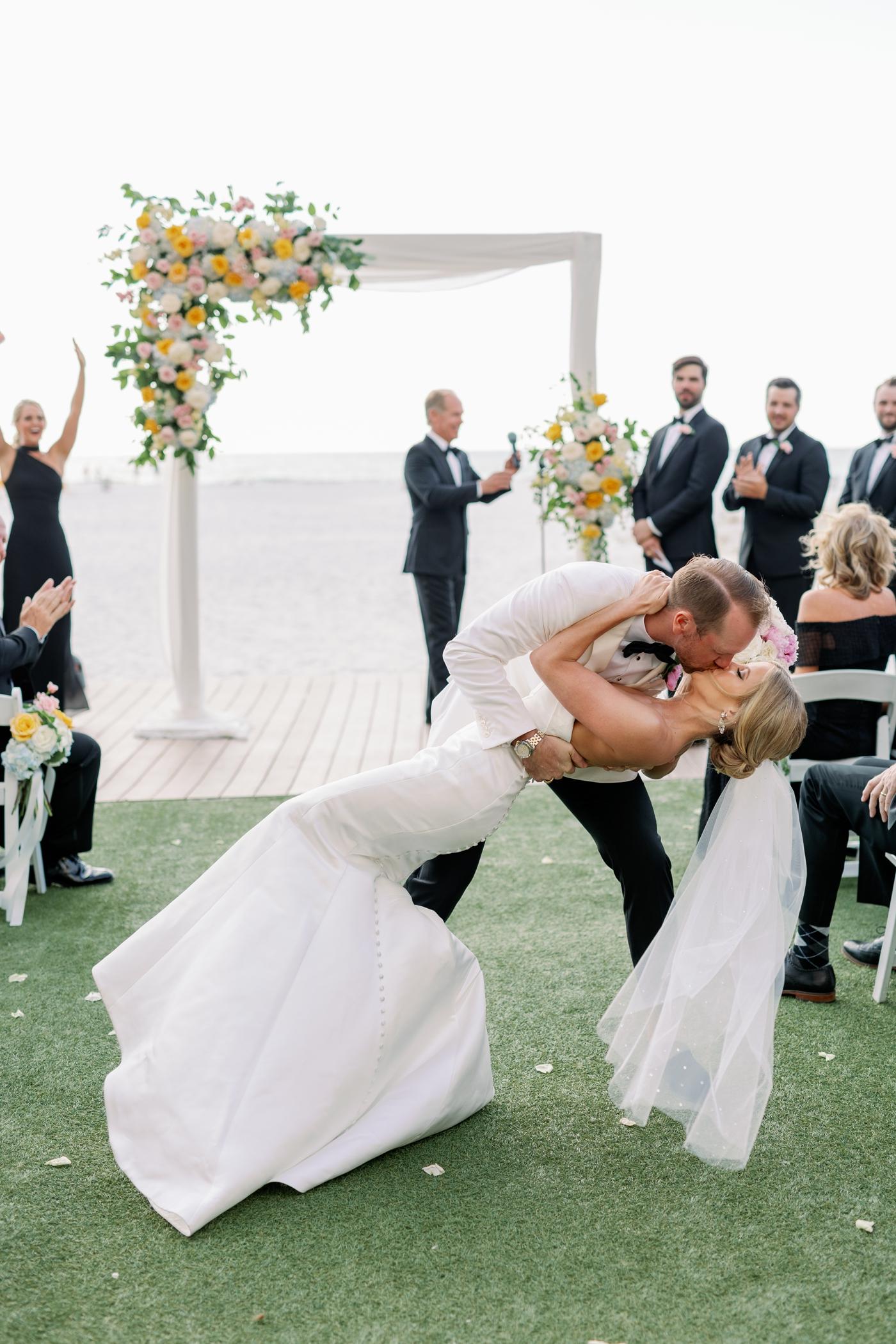 Sand pearl wedding photography