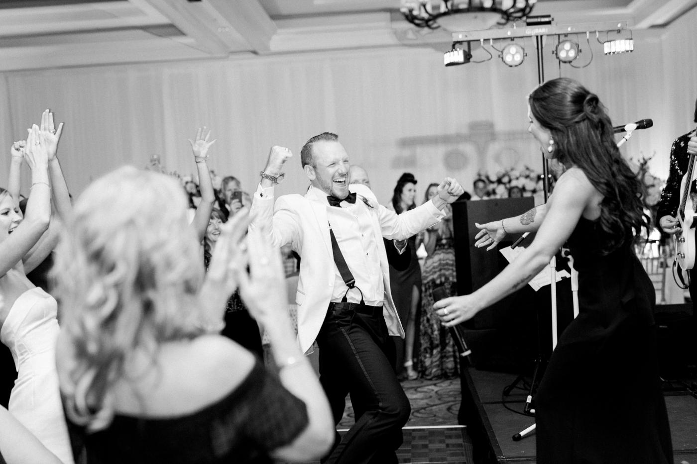 sandpearl wedding reception photography