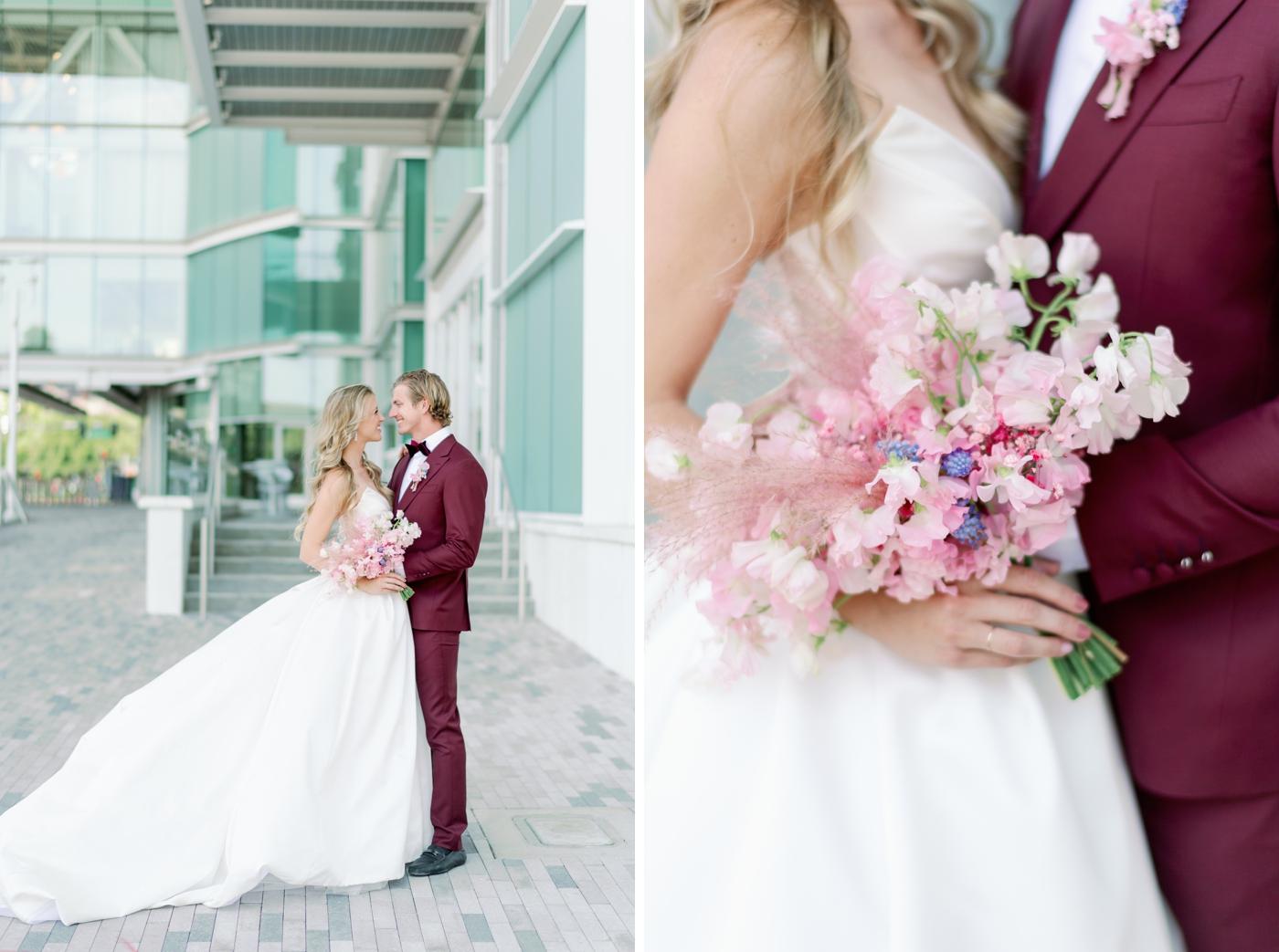 blush wedding inspo photographer