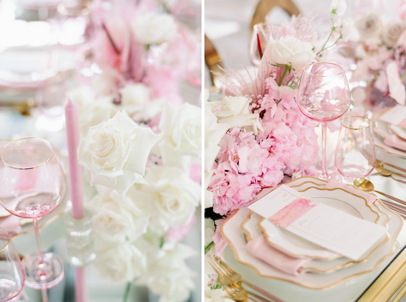 blush wedding inspo