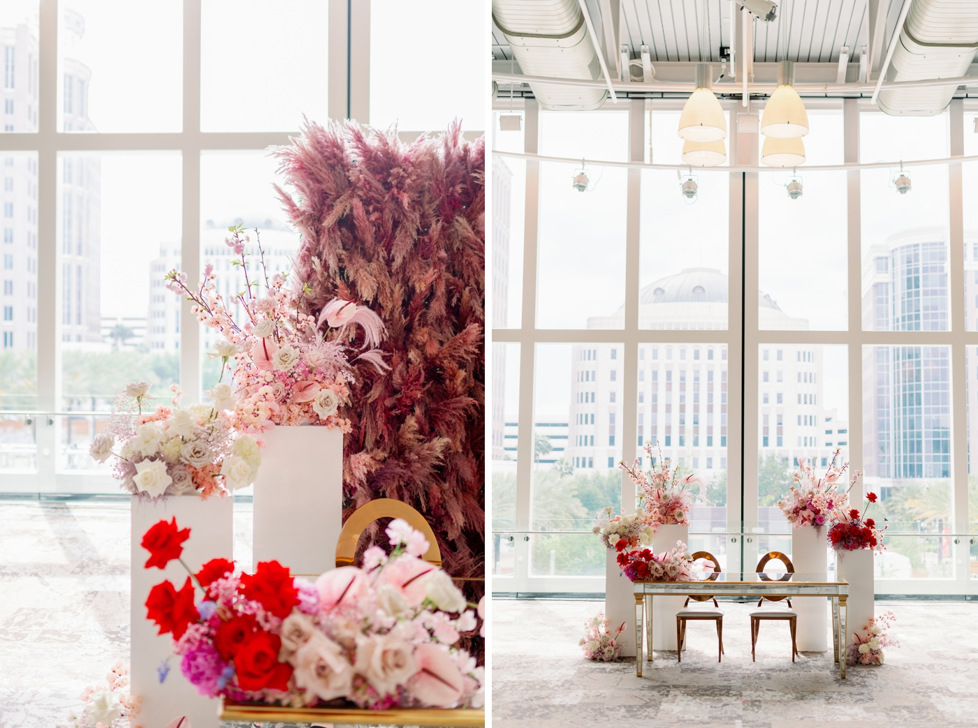 in full bloom wedding florist