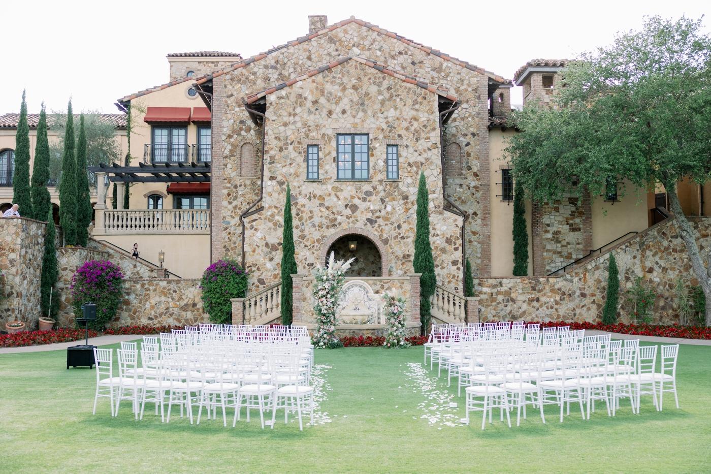 beautiful hill wedding