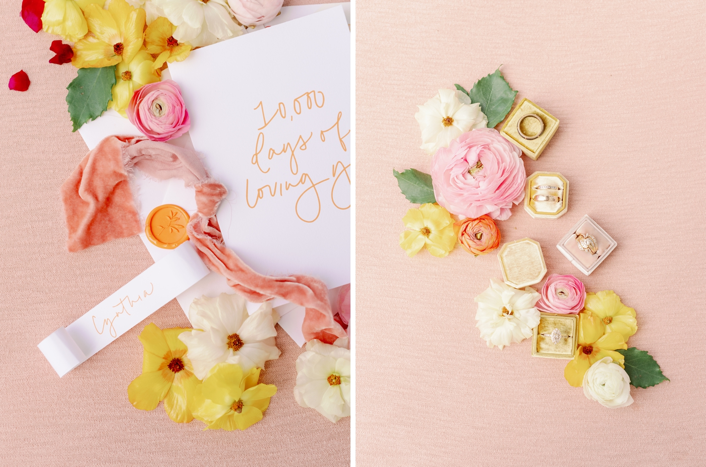 styled vow renewal photography